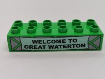 Lego Duplo Képeskocka - Welcome To Great Waterton (karcos)