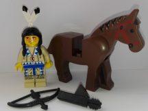 Lego Western figura - Indian Tan Shirt (ww016) Nagyon Ritka