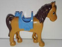 Lego Friends állat - Barna ló kék nyereggel 41039-es készletből