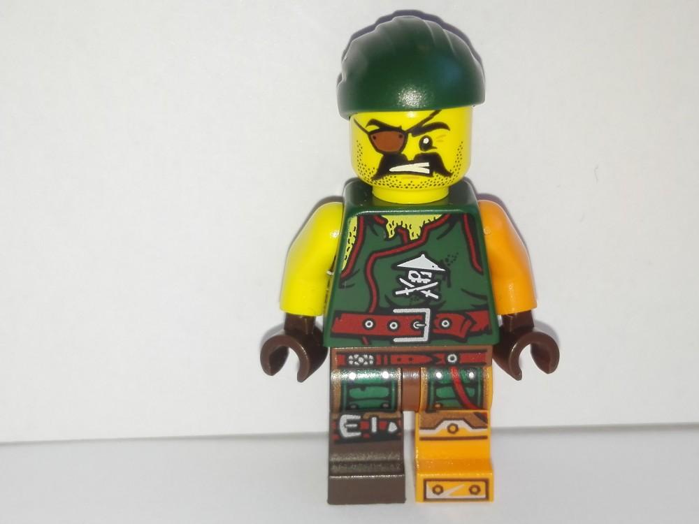 Baukästen & Konstruktion LEGO Ninjago LEGO Minifiguren njo203 Sqiffy