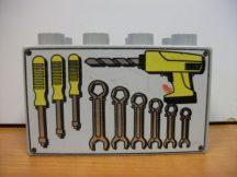 Lego Duplo képeskocka - szerszámok