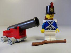 Lego figura Pirates - Bluecoat Soldier (pi153)
