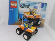 Lego City - Part Őr Quadja 7736