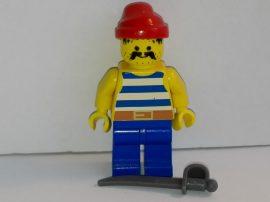 Lego Pirates figura - Kék Kalóz (pi021)