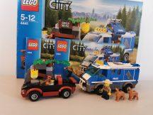 Lego City - Rendőrkutyás furgon 4441 (doboz+katalógus) (pici hiány)
