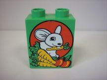Lego Duplo képeskocka - nyuszi