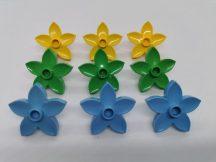Lego Duplo Virág csomag  (sárga, v.zöld, kék)