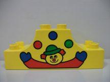 Lego Duplo képeskocka - bohóc (karcos)