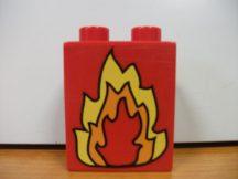 Lego Duplo képeskocka - tűz