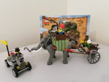 Lego Adventurers - Elefánt Karaván 7414 NAGYON RITKA