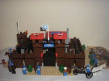 Lego System - Fort Legoredo (Erőd, Vár, Cowboy, western) 6762 RITKASÁG!!!