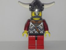 Lego Viking Figura - Viking Red Chess Bishop (vik032)