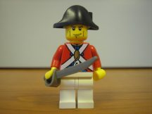 Lego Pirates figura - katona (pi124)