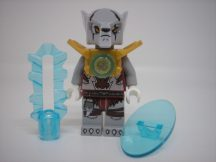 Lego Legends of Chima figura - Worriz - Pearl Gold Armor (loc052)