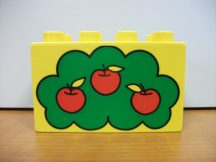 Lego Duplo képeskocka - alma (karcos)