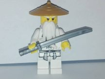 Lego Ninjago figura - Sensei Wu  (njo064)