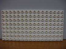 Lego Duplo Alaplap 8*16 (fehér)