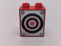 Lego Duplo képeskocka - céltábla Verdák (karcos)