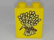 Lego Duplo Képeskocka - Búza (matricás)