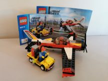 Lego City - Műrepülőgép 60019 (doboz+katalógus)