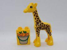 Lego Duplo zsiráf répával