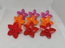 Lego Duplo Virág csomag (narancs, piros, rózsaszín)
