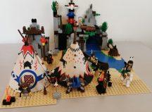 Lego System - Rapid River Village, Indián falu 6766 (pici eltérés) Western