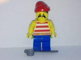 Lego Pirates figura - Piros Kalóz (pi043)