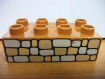 Lego Duplo képeskocka - terméskő (karcos)
