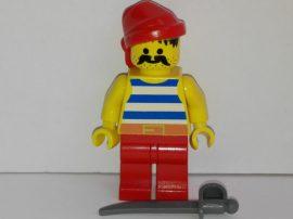 Lego Pirates figura - Kék kalóz (pi076)