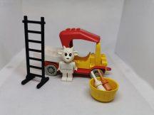 Lego Fabuland - Gertrude a festő 3637 (ecset hiányzik, létrán pici hiba)