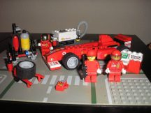 LEGO Racers - Ferrari F1 Fuel Stop, üzemanyagállomás 8673