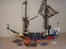 Lego Pirates - Pirate Battle Ship, Hajó - Red Beard Runner 6290 RITKASÁG