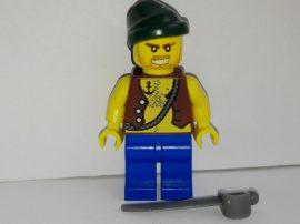 Lego Pirates figura - Kalóz (pi129)