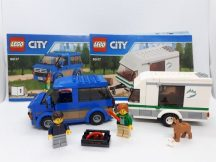 Lego City - Furgon és lakókocsi 60117 (Katalógussal)