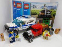 Lego City - Rendőrkutyás egység 60048 (doboz+katalógus)