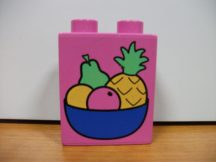 Lego Duplo képeskocka - gyümölcskosár