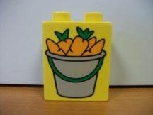 Lego Duplo képeskocka - répa (karcos)