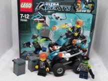 Lego Ultra Agents - Folyóparti Rajtaütés 70160 (dobozzal)