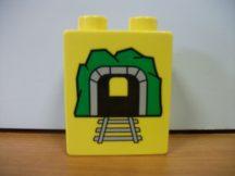 Lego Duplo képeskocka - mozdony, alagút
