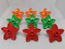 Lego Duplo Virág csomag (v. zöld, piros, narancs)
