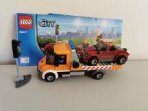 Lego City - Lapos Platójú teherautó 60017 (katalógussal)