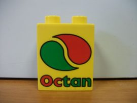 Lego Duplo képeskocka - octan