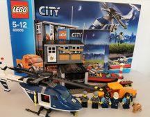 Lego City - Helikopteres elfogatás 60009 (doboz+katalógus)