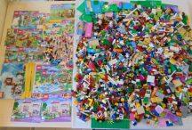 6,3 kg Friends, Creator ömlesztett, vegyes, kilós lego csomag (több, mint 30 figurával, állattal, alaplapokkal)