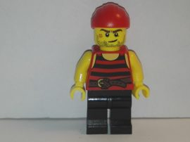 Lego Pirates figura - Kalóz (pi167)