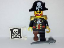 Lego Pirates figura - Captain Brickbeard (pi081)
