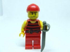 Lego Pirates figura - kalóz (pi166)