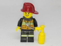 Lego City figura - Tűzoltó (cty434)