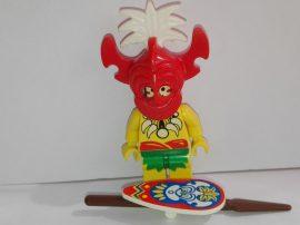 Lego Pirates figura - King Kahuka (pi068)